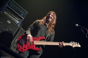 Bryan Beller with Mike Lull Bass and GK Amp Rig