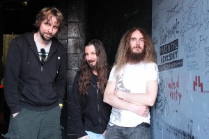 The Aristocrats Backstage In Sacramento CA - by Jennifer Young