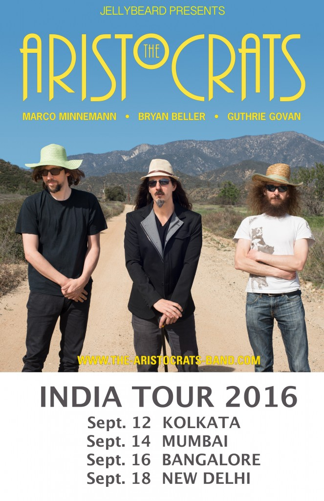 Acrats TC India Tour Poster